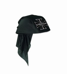 Black Chopper Scarf Hat
