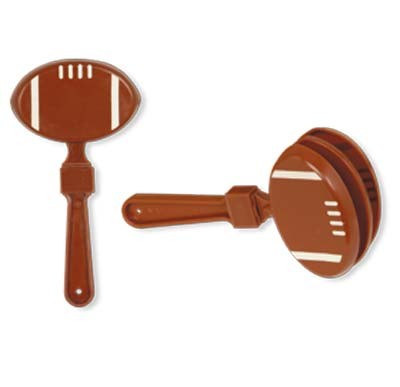 Plastic Football Clapper Partycheap
