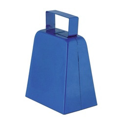Blue Cowbells, 4in