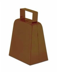 Brown Cowbell