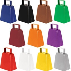 Cowbell Noisemaker (Select Color)