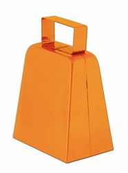 Orange Cowbells, 4in