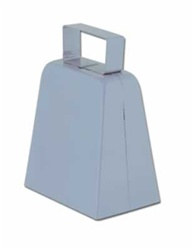 Silver Cowbell