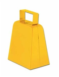 Yellow Cowbells, 4in