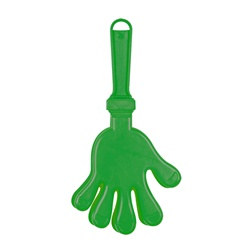 Green Medium Hand Clapper