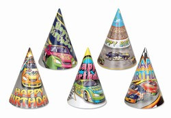 Race Car Birthday Hat (sold 144 per box)