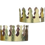 Gold Foil Crown (1/pkg)