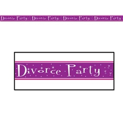 Divorce Party Party Tape
