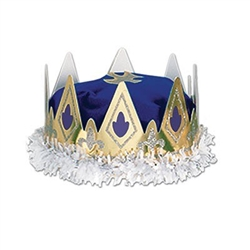 Blue Royal Queens Crown (1/pkg)