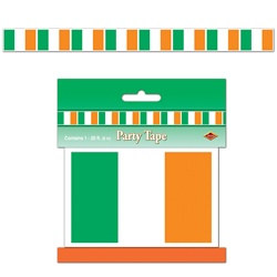 Irish Flag Party Tape