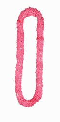 Pink Soft Twist Poly Leis (sold 12 per box)
