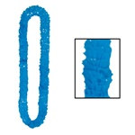 Blue Deluxe Soft-Twist Poly Leis
