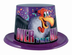Over-The-Hill Topper Hat