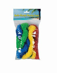Soft Twist Party Leis (4/pkg)