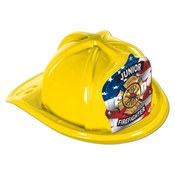 Yellow Junior Firefighter Hat