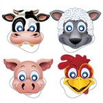 Farm Animal Masks