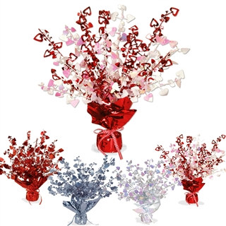 Heart Gleam N Burst Centerpiece