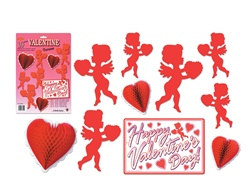 Valentine Decorama (10 items/Pkg)
