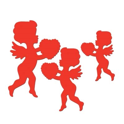 Red Cupid Cutouts PartyCheap