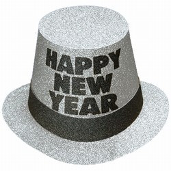 Silver Mirage New Year Hi-Hat (sold 25 per box)