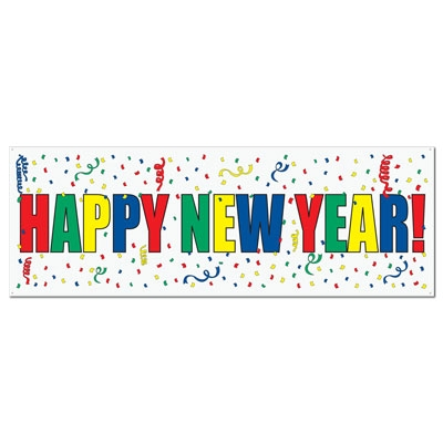 Happy New Year Banner PartyCheap