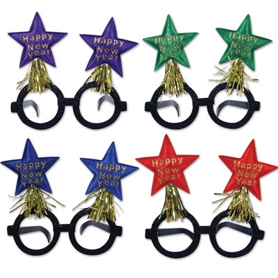New Year Star Glasses (1/Pkg)