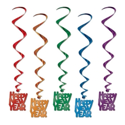 Assorted New Year Whirls (5/pkg)
