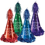 Reflections New Year Party Hats (sold 25 per box)