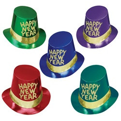 Gold Coast New Year Hi-Hats (sold 25 per box)