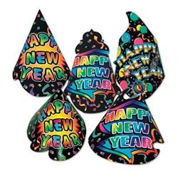 New Yorker New Year Hats