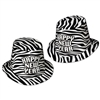 Zebra Print Hi-Hat (sold 25 per box)