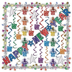 New Year Decorating Kit (17/pkg)