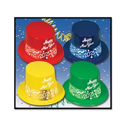 Countdown 2014 Top Hats (sold 25 per box)