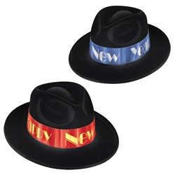 Fire and Ice New Year Fedoras (1/pkg)