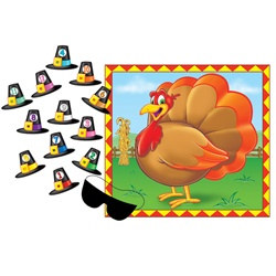 """Pin The Hat"" Turkey Game"