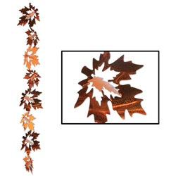 3-D Prismatic Leaf Gleam N Garland