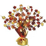 Fall Leaves Foil Centerpiece