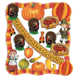 Flame Retardant Thanksgiving Decorating Kit