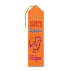 Daddy's Special Helper Ribbon