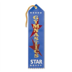 Gymnastic Star Ribbon