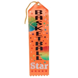Basketball Star Ribbon