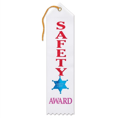 Safety Award Ribbon