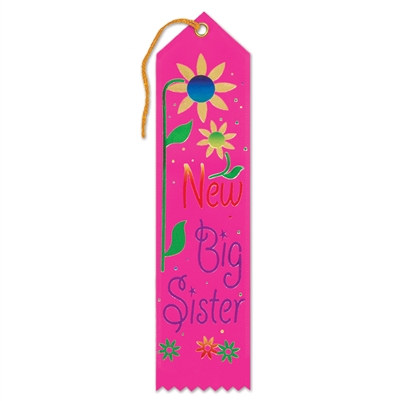 New Big Sister Ribbon
