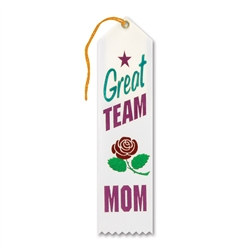 Great Team Mom Ribbon