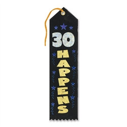30 Happens Ribbon