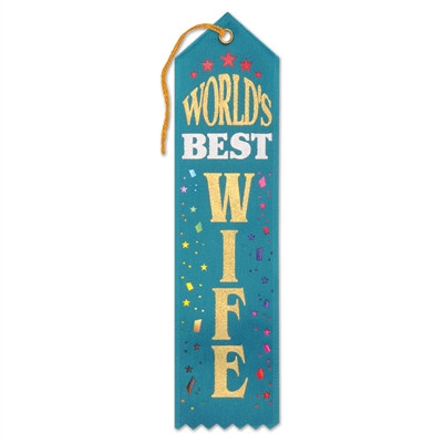 World's Best Wife Ribbon