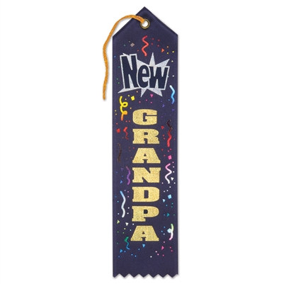 New Grandpa Ribbon