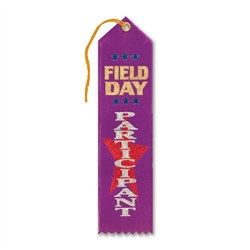 Field Day Participant Ribbon