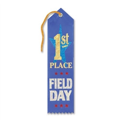 Field Day 1st Place Ribbon