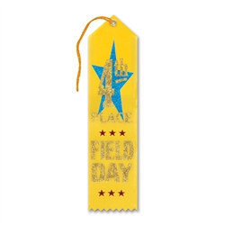 Field Day 4th Place Ribbon